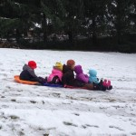 #4 - sledding with cousins