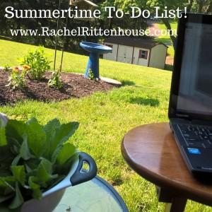Summertime To-Do List!