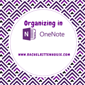 organizing in one note
